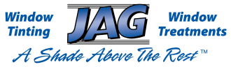 JAG Window Tint & Treatments: A Shade Above the Rest Logo